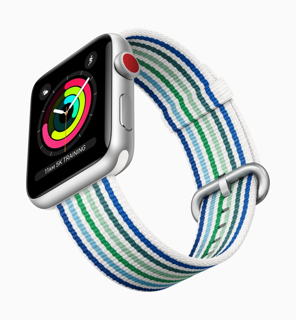 Apple Watch Series3 spring woven bands stripes 032118 - Apple predstavil novú jarnú kolekciu náramkov pre Apple Watch