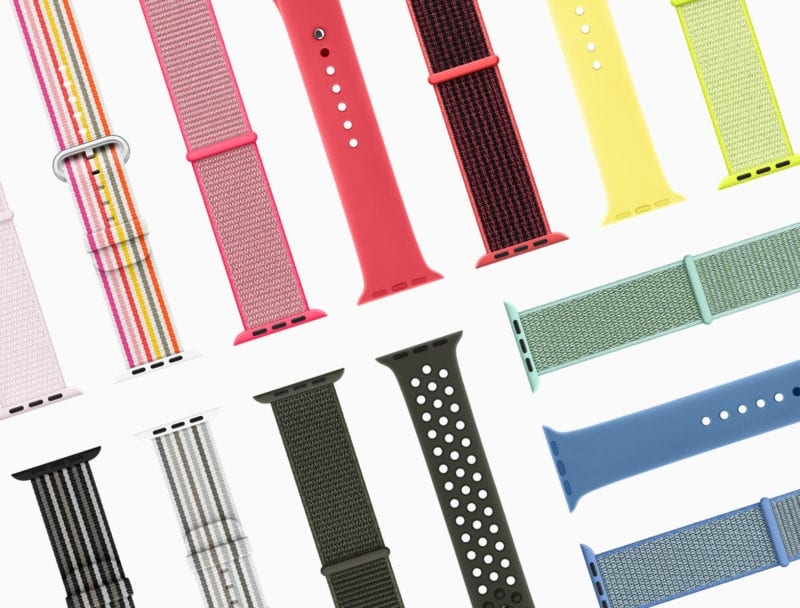 apple watch series3 springbands 032118 800x608 - Apple predstavil novú jarnú kolekciu náramkov pre Apple Watch